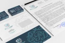 Логотип и фирменный стиль для стоматологии