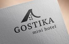Логотип для мини-отеля Gostika