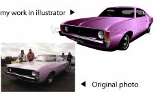отрисовка в illustrator