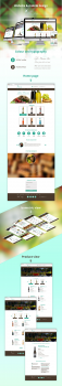 Web&mobile desing Wine Story