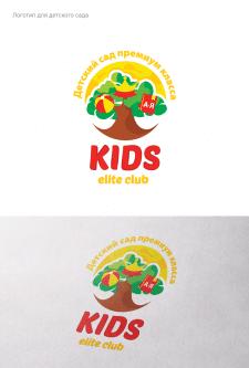 """Логотип детского сада """"EliteKidsClub"""""""