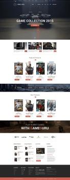 Дизайн интернет-магазина игр