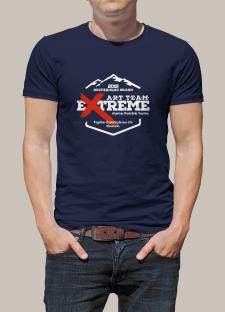 Принт на футболку Экстрим 2018