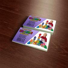 визитка для детского магазина
