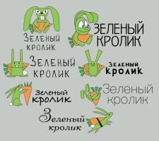 """Вариация логотипа для """"Зеленый кролик"""""""