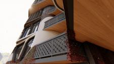 Концепция дома-вставки в историческую среду города