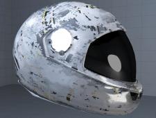 Моделирование шлема, подготовка текстур