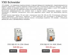 УЗО Schneider