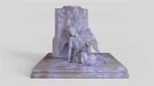 3d model of an angel.
