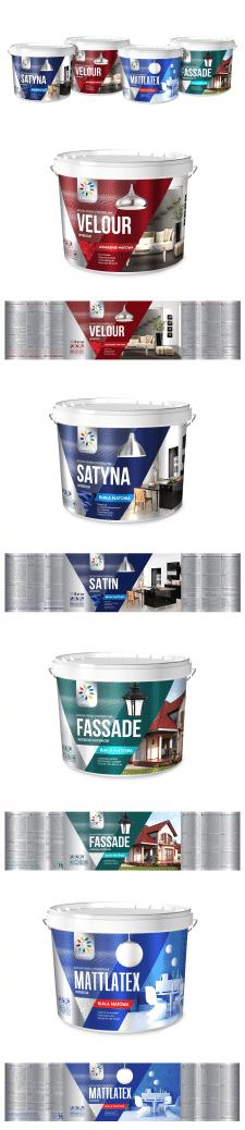 Серия упаковок для ТМ Colorina