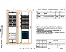 Размещение оборудования в коммутационной БЦ