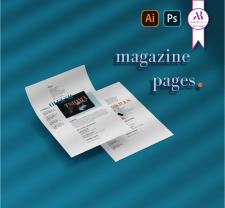Страницы для журнала