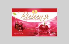 """Кондитерская упаковка """"Вишня"""""""