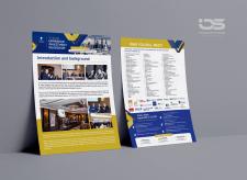 """Листовка А4 """"Ukrainian Investment RoadShow"""""""