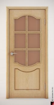 Деревянная дверь 3D модель