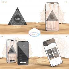 Дизайн мобильно приложения Fawaz
