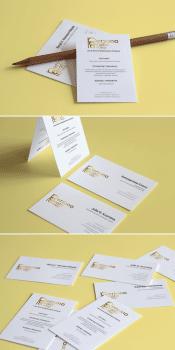 визитки для Persona Grata Group