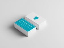 Дизайн визитка для стоматолога