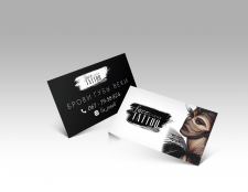 визитка для мастера татуажа