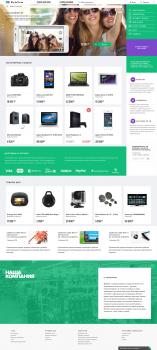 Верстка адаптивного интернет-магазина