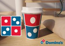 Концепт дизайна одноразовых стаканчиков для Domino
