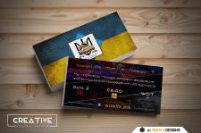 Разработка ексклюзивного дизайна визиток