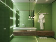 Номер отеля (Зелень)