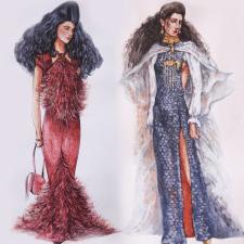 Иллюстрации. Дизайн одежды