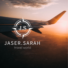 """Логотип для тревел-компании """"J.S travel world"""""""