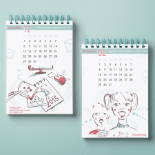 Illustrations for calendar