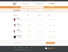 Корзина + формление интернет-магазина электроники