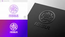 Логотип-концепт со львом.