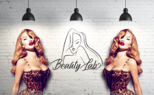 логотип для Beauty Lab