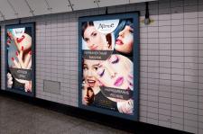 Дизайн наружной рекламы для салона красоты AVENUE