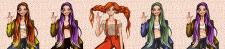 Криптоарт. Уникальные иллюстрации NFT персонажей