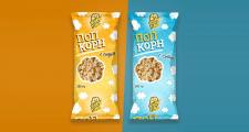 Дизайн упаковки для попкорна Show time