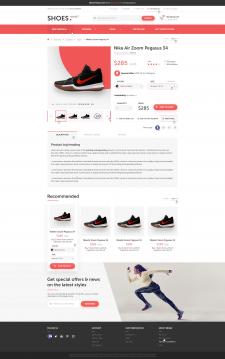 Дизайн страницы товара