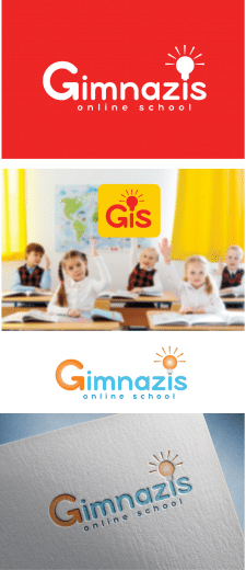 "Логотип онлайн-школы ""Gimnazis"""