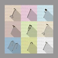 Иконки костылей