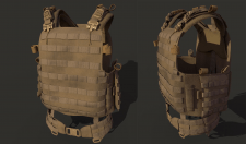 SMB Plate Carrier for Arma3 Mod France