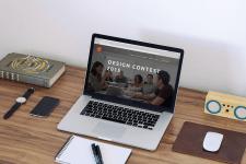Посадочная страница для Design contest 2015