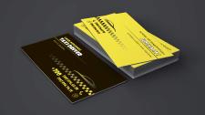 Дизайн визитки для водителя