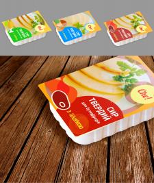 """упаковка для серии бутербродного сыра """"СHE!"""""""