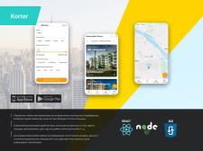Мобильное приложение Korter на React Native