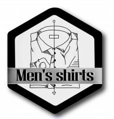 Разработка логотипа для магазина рубашек.