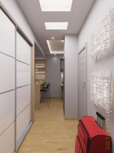 Дизайн интерьера однокомнатной квартиры 34м2