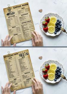 "Барное меню для ресторана ""Лукоморье"""