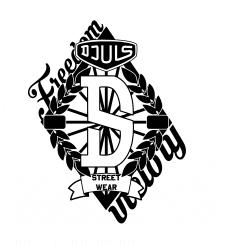Принт для бренда уличной одежды DJuls