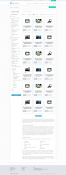 Верстка сайта с элементами jquery
