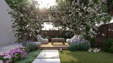 ЗD моделирование и дизайн заднего дворика